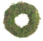 Ring van mos (80 x 15 mm) groen
