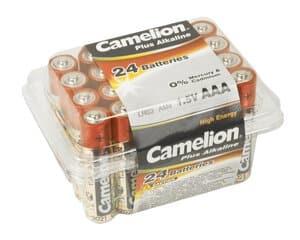 Camelion Alkaline Plus (AAA) 24 stuks