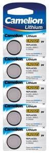Camelion knoopcel batterij 3 V CR2025, 5 stuks