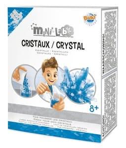 BUKI Mini Lab - kristallen kweken, blauw