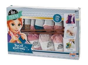 Kit de tricot - Écharpe/Gants/Sac