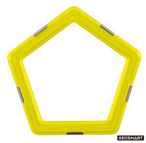 GeoSmart vijfhoeken, 6 stuks