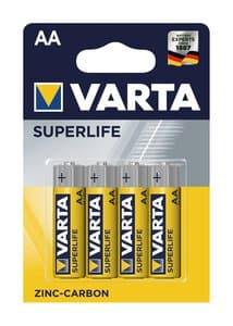 Pile VARTA Superlife, 1,5 V (AA), 4 pièces