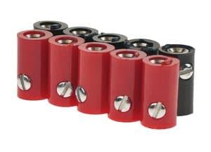 Accoupleurs HO, Diam. 2,6 mm, 10 pièces