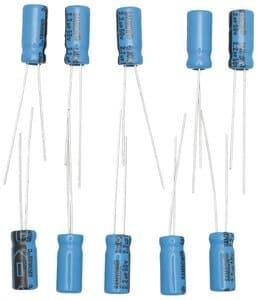 Condensateurs électrolytiques, 2,2 µF