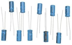 Condensateurs électrolytiques , 10  µF