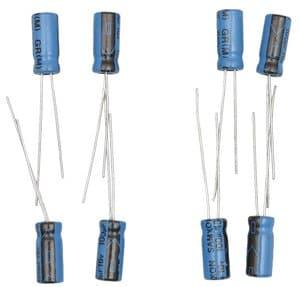 Condensateurs électrolytiques , 100  µF