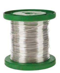 Silberdraht (1,0  mm) - 1 kg (ca. 120 m)