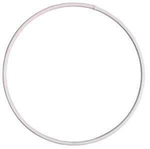 Draadring, wit gecoat (100 mm)