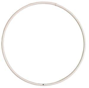 Draadring, wit gecoat (250 mm)