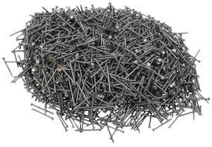 Clavos con cabeza, 1.000 g, (25 mm)