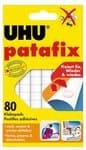 UHU patafix plakpads, wit, 80 stuks