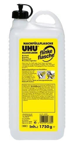 Uhu Flinke Flasche 1750 G Nachfullflasche Opitec