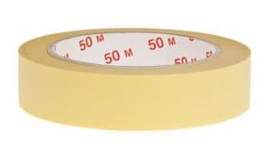 Crêpe plakband (50 m x 25 mm)