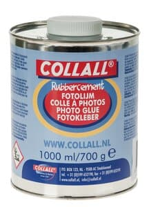 Fotolijm/rubbercement, 700 g