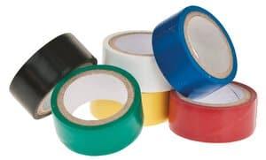 Isolatietape, kleurrijk gesorteerd, 6 rol