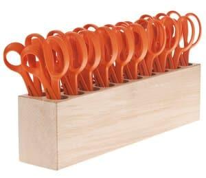 OPITEC Sparset: 20 FISKARS Scheren + Werkzeugblock