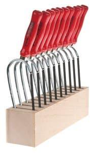 OPITEC Sparset:10 PUK®-Sägen + Werkzeugblock