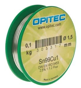 Elektronica soldeertin BF26-1 (1,5 mm) 100 g