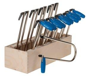 OPITEC Sparset: 10 Laubsägebogen + Werkzeugblock