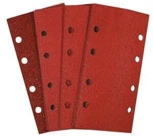 Schuurpapier stroken (93 x 185 mm) 15 stuks