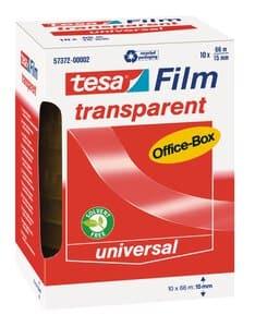 tesafilm Office-Box plakband (66m x 15mm) 10 stuks