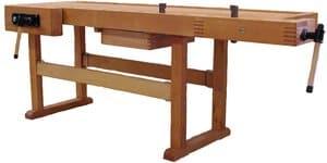 Beukenhouten meubelmakerswerkbank m1200, 185x65 cm