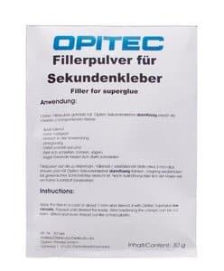 OPITEC Fillerpulver für Sekundenkleber 30 g
