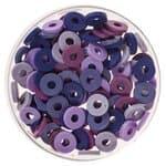 Mezcla de perlas Katsuki (6 mm) lila, 100 ud.