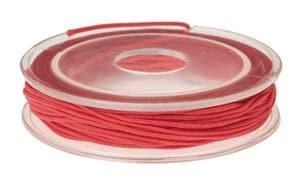 Elastiek, 5 m (1 mm) rood