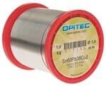 Hilo para soldaduras electrónicas, 1mm, 1000 g