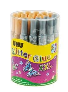 Colle à paillettes XXL UHU, 24 x 20 ml