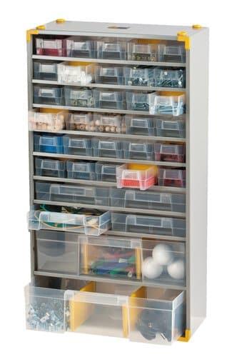 meuble casier en m tal plastique 36 tir opitec. Black Bedroom Furniture Sets. Home Design Ideas