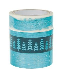 Washi-Tape, 4er-Set Hotfoil Merry Christmas