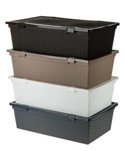 Kunststof box + deksel(vrijblijvende kleur) 30L