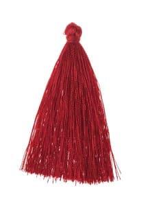 Pompon, env. 65 mm, rouge