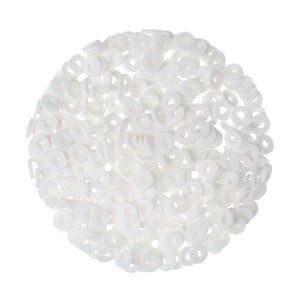 Katsuki Scheiben (6 mm), 300 Stück weiß