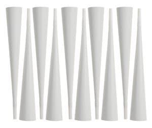 Papieren toeters (33 cm lang) 10 stuks