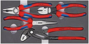 KNIPEX Basic tangen set