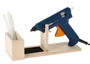 Holzständer für Heißklebepistolen