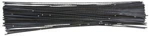 Figuurzaagblaadjes, dubbel getand, 144 stuks, Gr.3