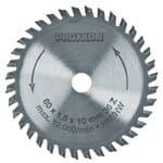 Hoja de sierra circular con metal (80 x 1,5x 10mm)