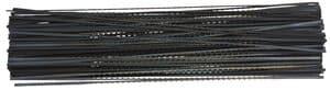 OPITEC Laubsägeblätter weitgezahnt, 144Stück Gr.7