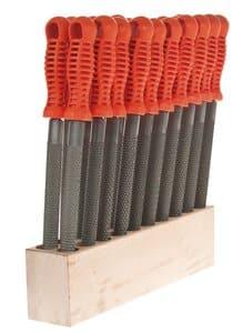 OPITEC Sparset: 20 Holzraspeln + Werkzeugblock