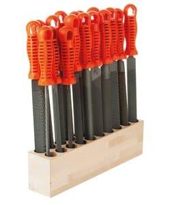 OPITEC Sparset: 20Raspeln/Feilen + Werkzeugblock