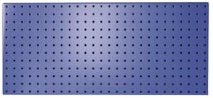 GWS stalen ophangbord, 454 x988 mm , Blauw