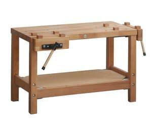 OPITEC kinder schaaf- en werkbank, 50 Z, 75 cm