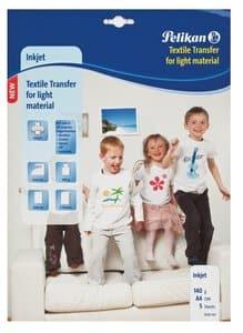 T-shirt folie voor licht textiel (A4) 5 vel