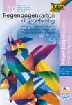 Gekleurd karton 'Regenboog', 22,5 x 32 cm, 10 vel