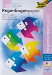 Regenbogen-Buntpapier, 10 Blatt (220x330mm)